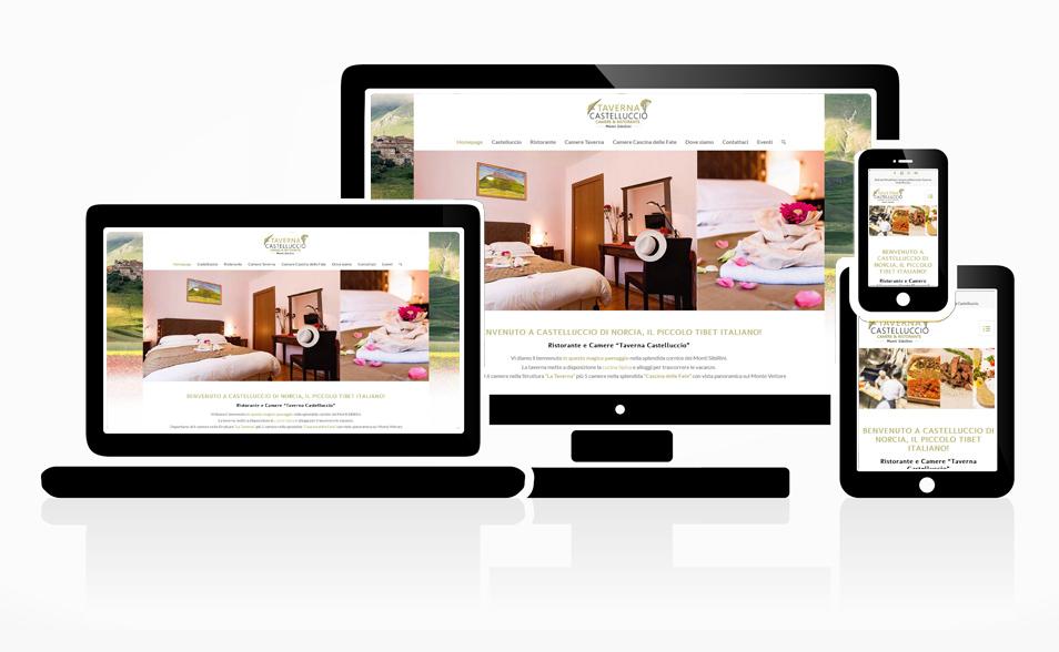 Sito Web Taverna di Castelluccio