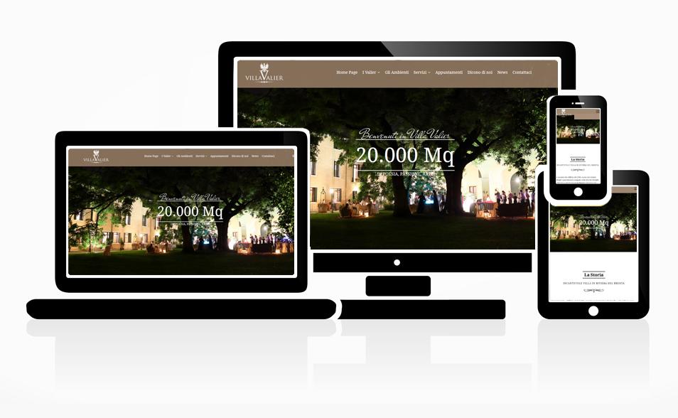 Sito Web Villa Valier